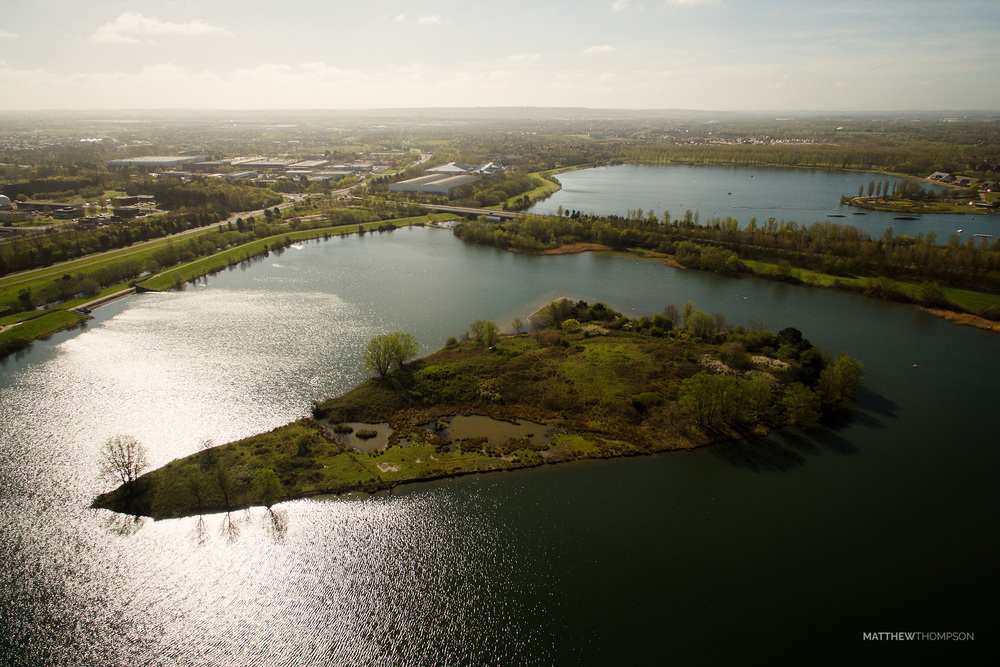 Willen Lake Island