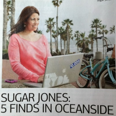 Sugar Jones San Diego Mag Shot