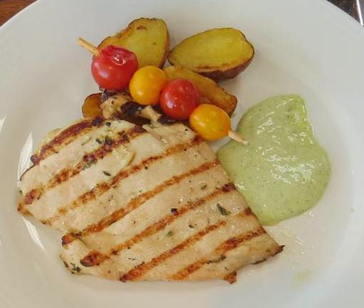grilled chicken hyatt waters organic kids menu