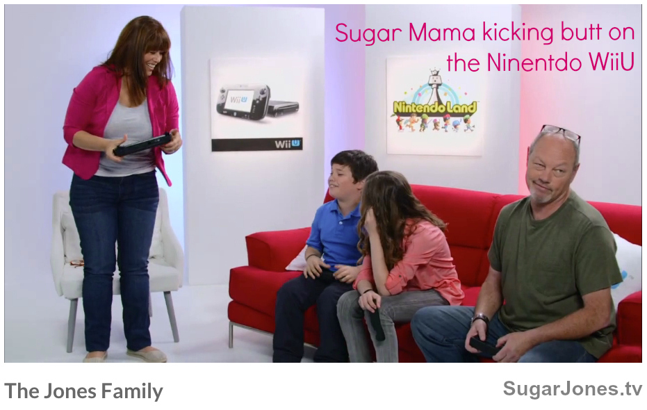 The Jones Family Playing Nintendo WiiU.jpg
