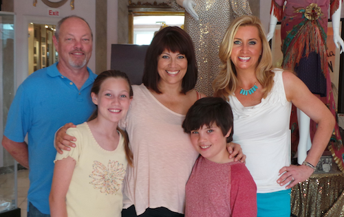 The Joneses with super fun and informative Family Travel Expert, Colleen Kelly