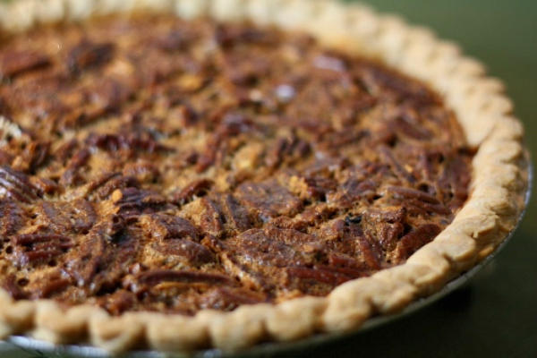 Black Bottom Pecan Pie #raw #food
