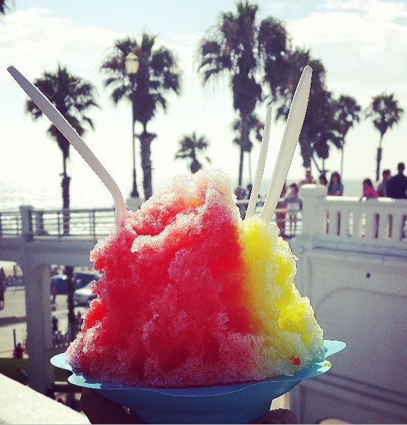 shave ice at the pier
