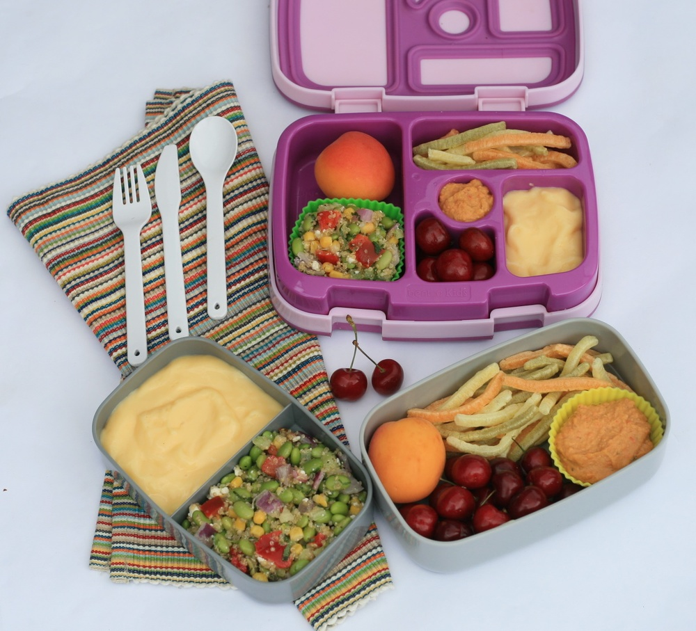 Bento Lunc Boxes - Mommy and Me Picnic