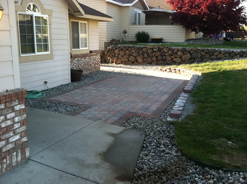East Wenatchee Paver Job