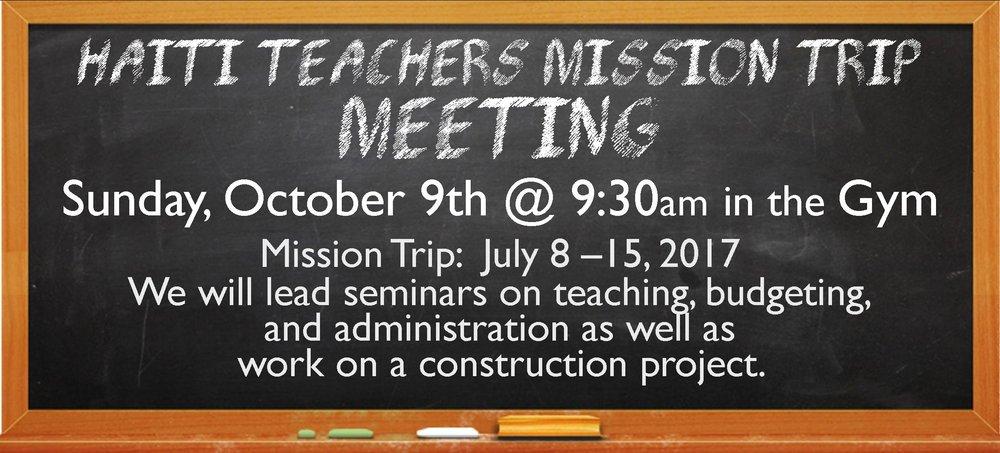 Haiti Teacher's Mission Trip Meeting 092816.jpg