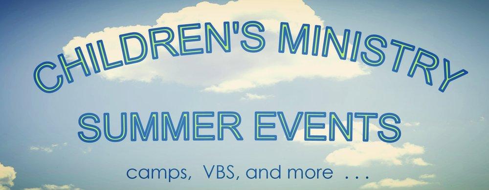 Children's Ministry Summer Events 011917-2.jpg