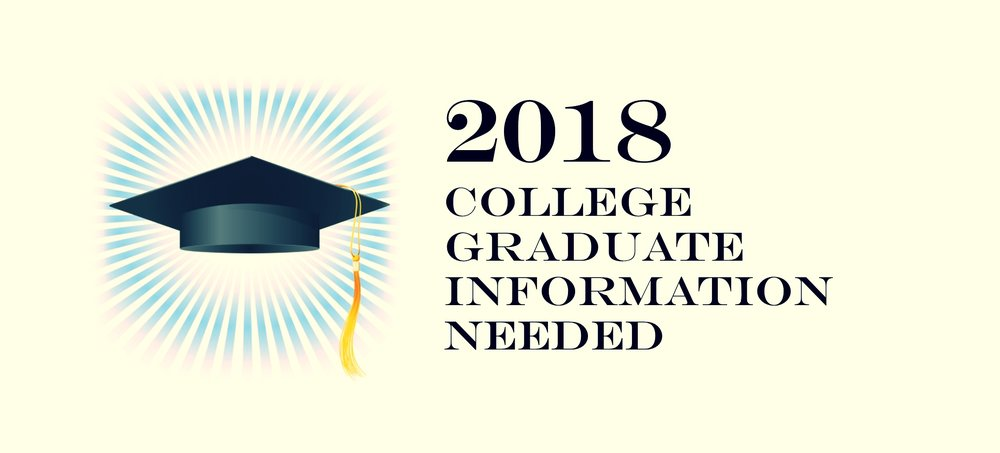 College Grad Info Needed 032718.jpg
