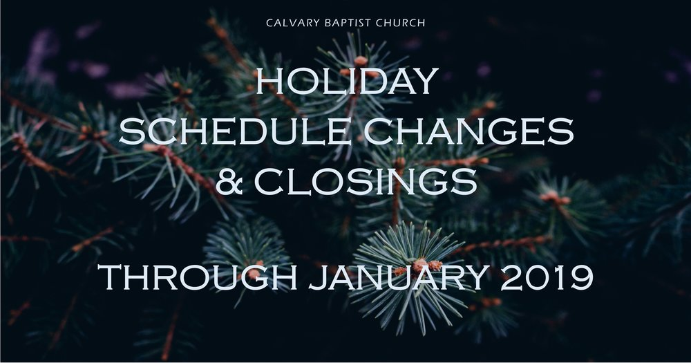 Holiday Schedule and Closing facebook link  2018 112818.jpg