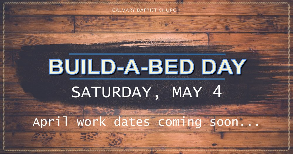 Build A Bed Update  Facebook 021519.jpg