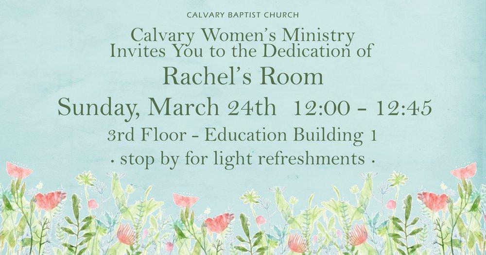 Rachel's Room Dedication Invitation FB 031719.jpg