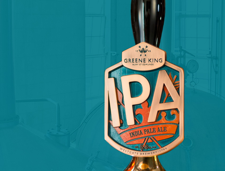 Greene King IPA Site Re-design