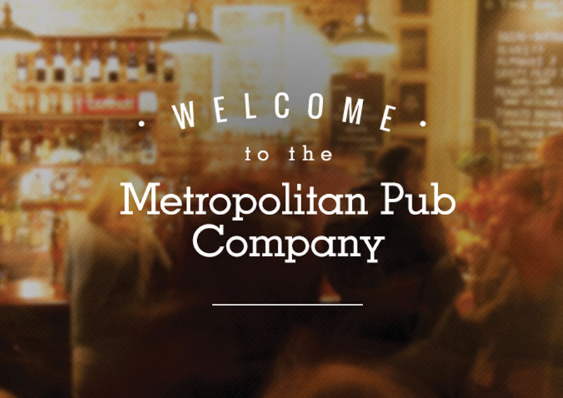 Metro Pub Co. Websites