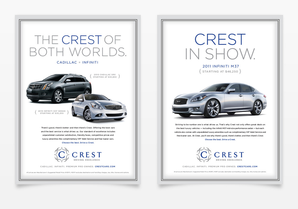 advertising infiniti Infiniti receives top honors in amci's trusted automotive brand study  in  addition to being able to see a 90-second version of the ad in theaters beginning .