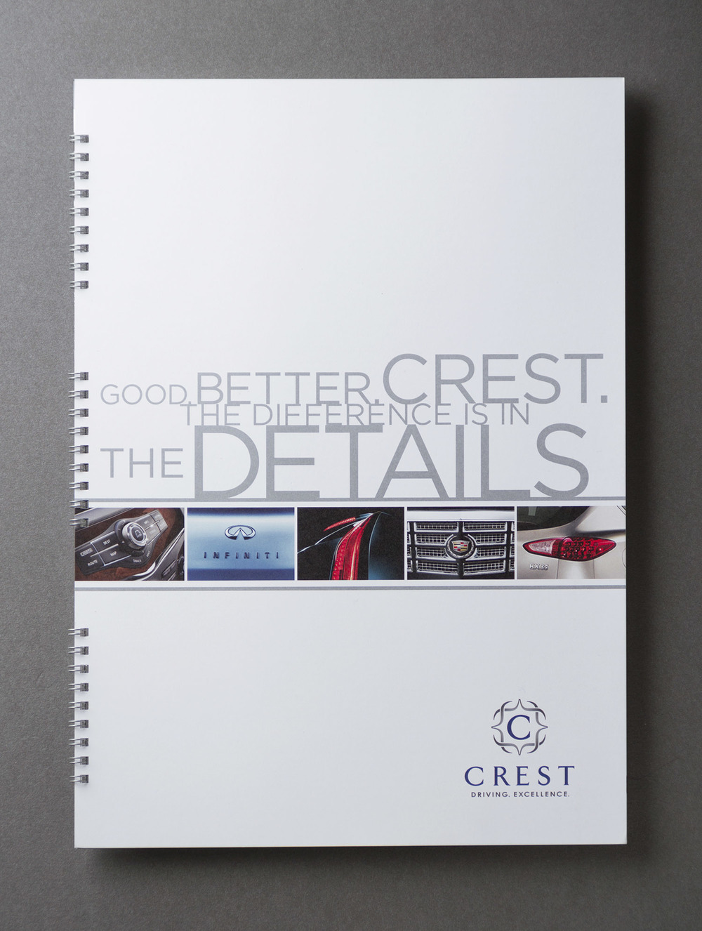 Crest Infiniti Cadillac Marketing Catalog