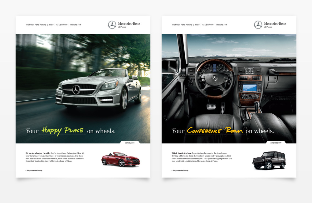 Mercedes-Benz of Plano Magazine Ads 2