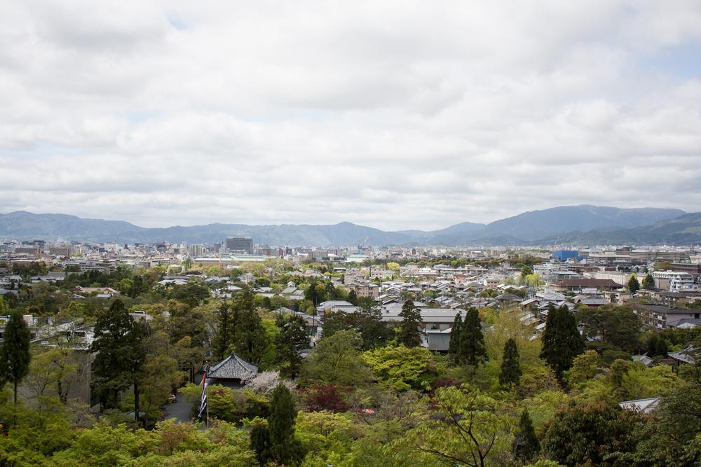 Temple views, Kyoto