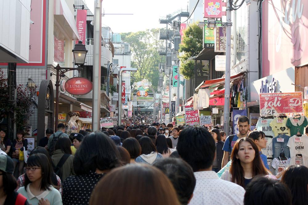 Takeshita Street, Harajuku, Tokyo