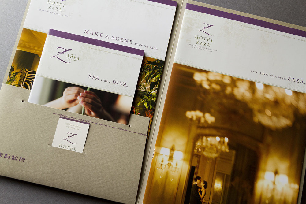 Hotel ZaZa Marketing Kit