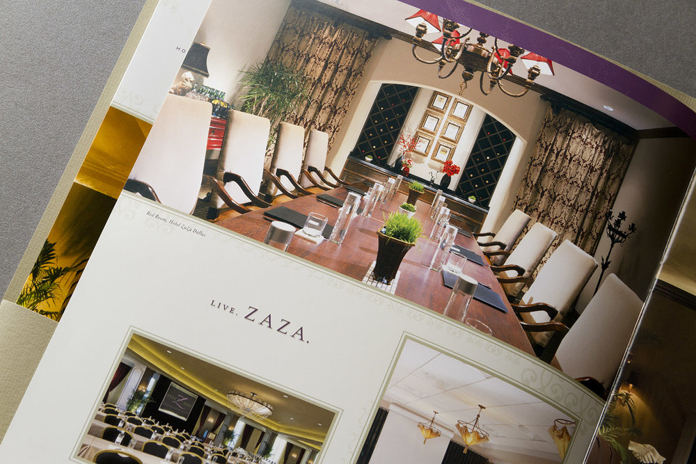 Hotel ZaZa Marketing Brochure