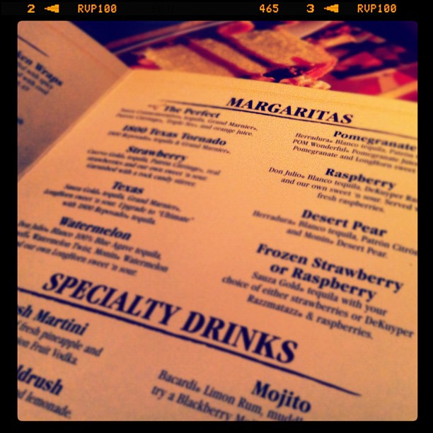 Christy & I Are Drinking Our Way Through the Drink List (Taken with instagram)