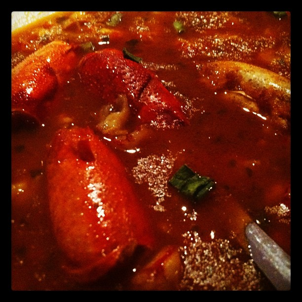 #foodieheaven The best detour I have ever taken! Crawfish bisque. OMG (Taken with  Instagram  at Pat's Fisherman's Wharf)