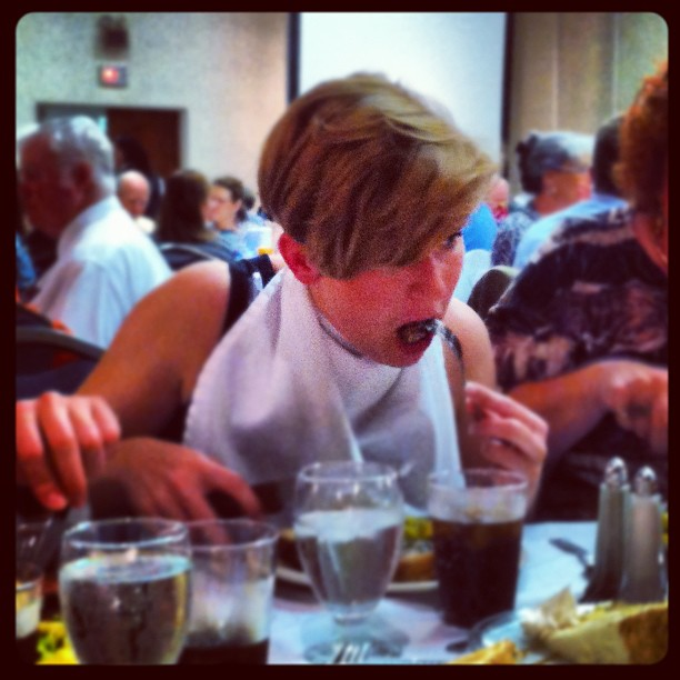Iva eats her way through Texas (Taken with  Instagram  at Y O Ranch Resort Hotel)