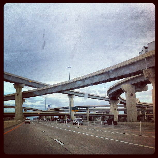Layers of highway (Taken with  Instagram  at Katy, texas)