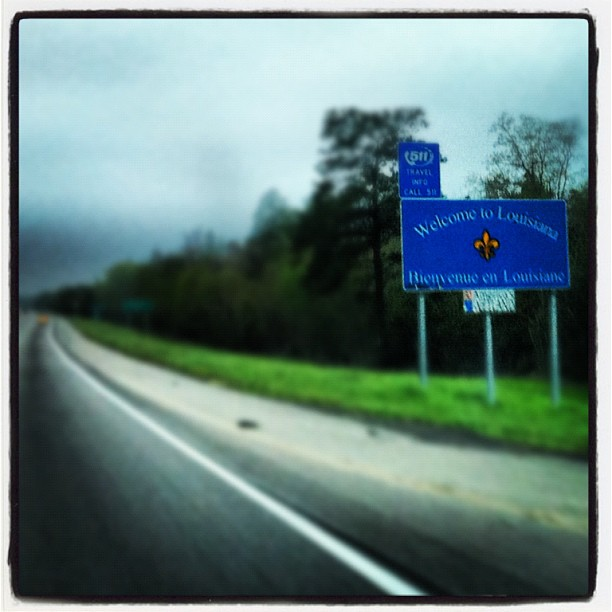 Another State Off My List (Taken with Instagram at Ms And La Border)