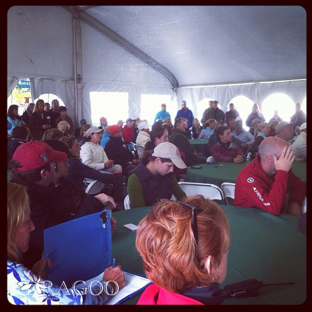 Rolex rider briefing 2012 #rk3de (Taken with  instagram )