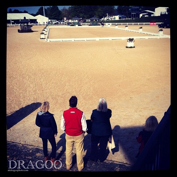 David, Linda Zang and Lynn Little watch Karen's test on Veronica. #rk3de  (Taken with  instagram )
