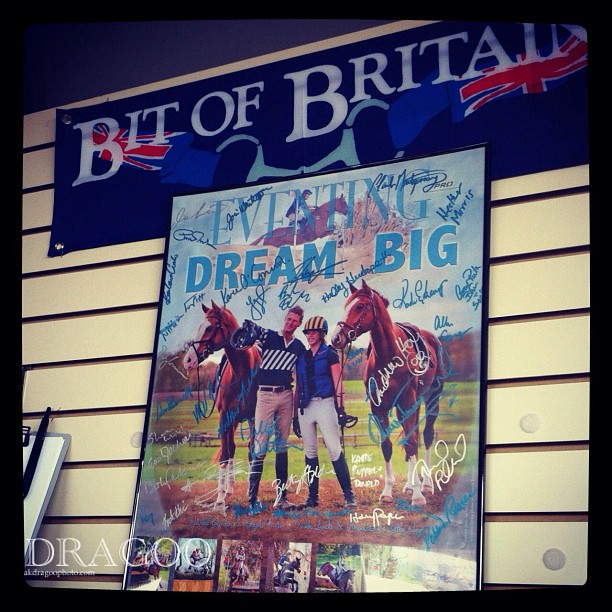 Put your bid in on the PRO poster (signed by all the riders) to benefit Martha McDowell. #rk3de  (Taken with  instagram )
