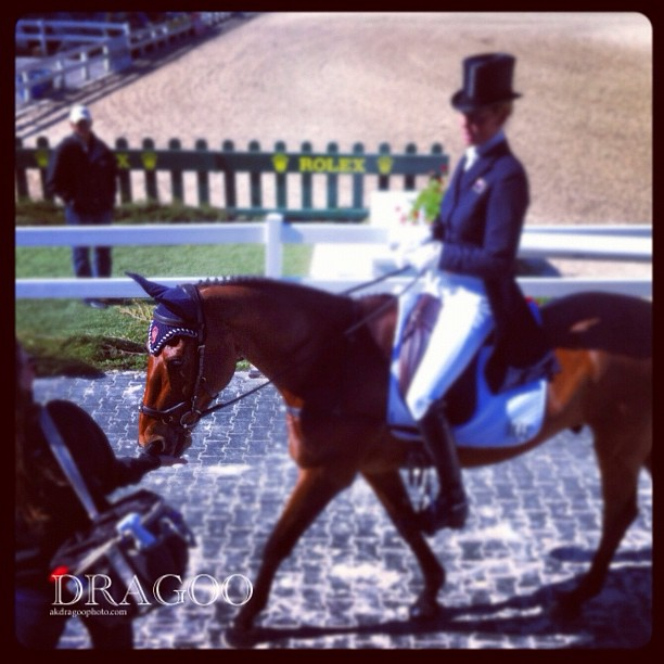 Lucy Jackson and her Micklem. #rk3de (Taken with instagram)