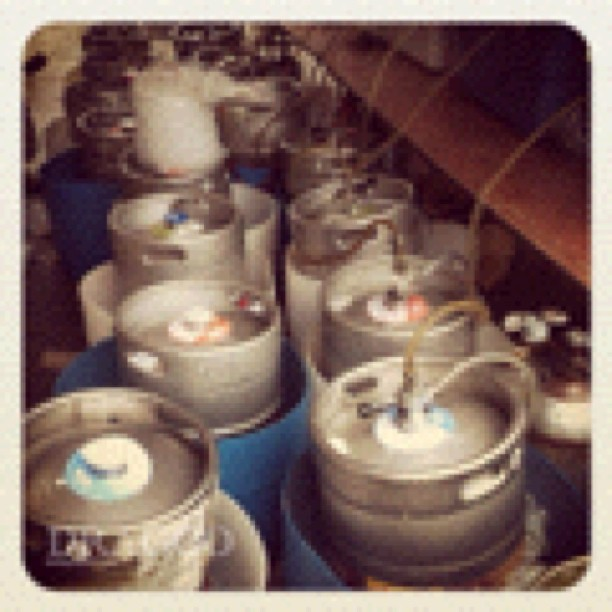 Kegs at the ready #slyfoxgoatracing2012 (Taken with Instagram at Slyfox Goat Races 2012)