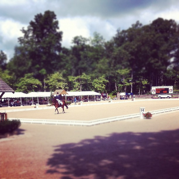 #grandprix #usef #dressage #sportofthesummer (Taken with Instagram at United States Equestrian Team Foundation)