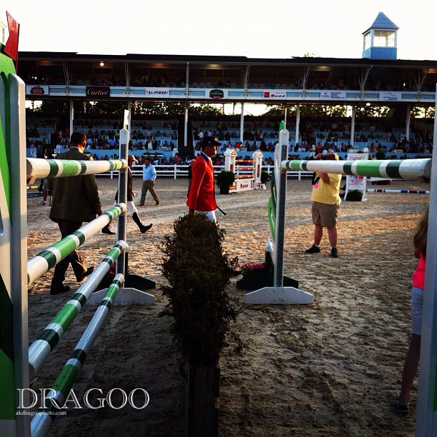 Mario and the Oxer #devonhorseshow #grandprix (Taken with instagram)