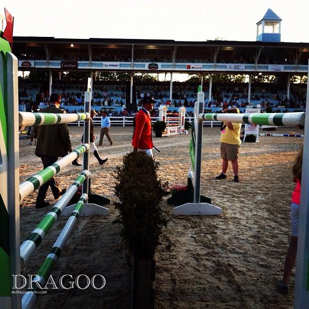 Mario and the Oxer #devonhorseshow  #grandprix (Taken with  instagram )