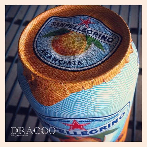 You peel it!  #sanpellegrino (Taken with  Instagram )