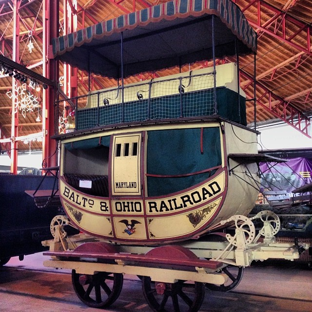 I bet that was a nauseating ride. #b&otrainmuseam #baltimore