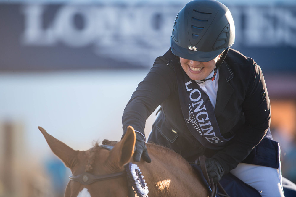 Ashlee Bond won the Thermal, CA World Cup Qualifier after having her daughter four months before.