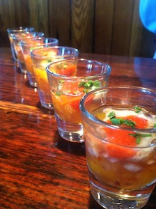 Happy Hour Oyster Shooters!