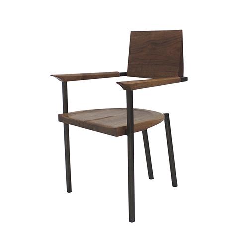 Walnut Steel Chair.jpg