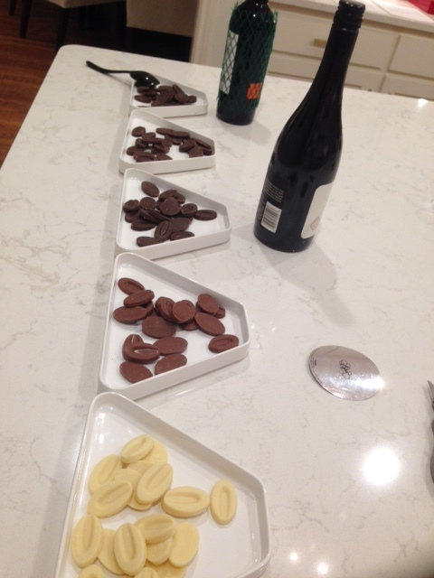 Private at-home chocolate events for social groups and get-togethers.