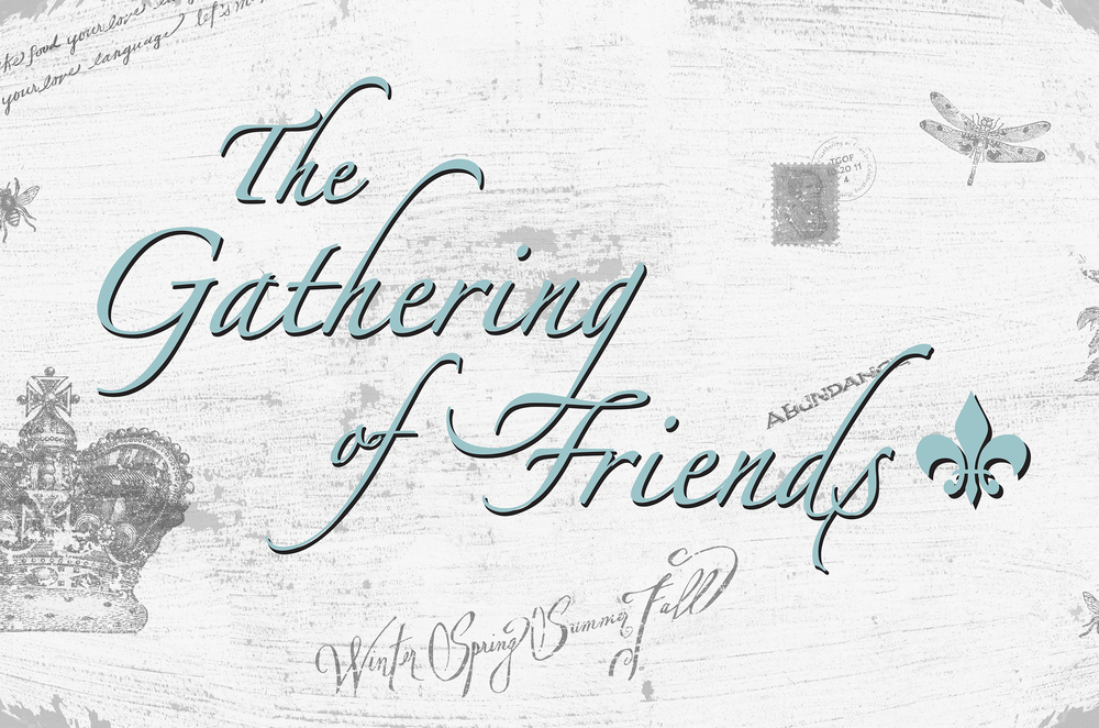 The Gathering of Friends Cookbook series