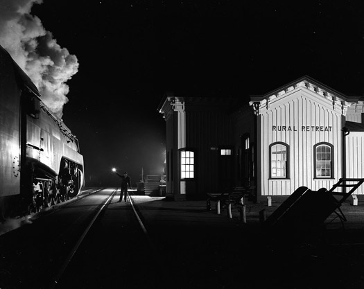 NW1635 Birmingham Special, Rural Retreat, VA, 1957  16 x 20 inches silver print
