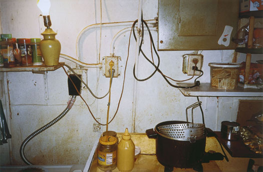 William Eggleston Untitled (Kitchen, Memphis, Tennessee), 2001  22 x 30 inches iris print