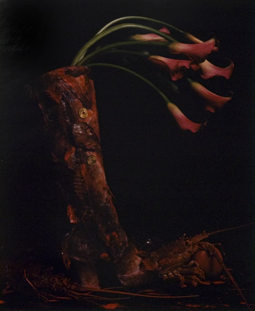 Michiko Kon The Red Boot, 1995  22 x 18 inches chromogenic dye coupler print