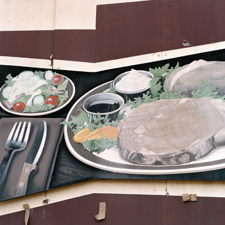 Jeff Brouws The Promise of an Obscure Hunger, Port Angeles, WA, 1990  24 x 20 inches archival pigment print