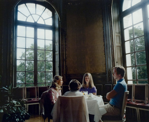 Leo Rubinfien At the Chateau d'Artigny, Montbazon, France, 1981  20.25 x 24.5 inches archival pigment print