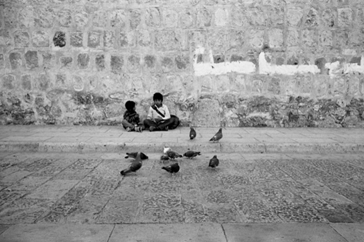 Oaxaca, Oaxaca, 2004  16 x 20 inches edition of 25 silver print